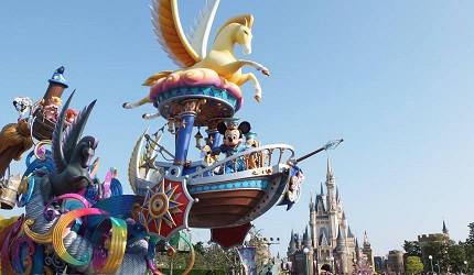 東京迪士尼樂園35週年遊行