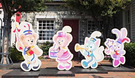 東京迪士尼海洋達菲裝飾