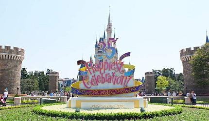 東京迪士尼樂園35週年裝飾