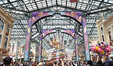 東京迪士尼樂園35週年世界市集喜慶大街