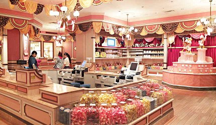 東京迪士尼樂園巧克力脆球主題店鋪