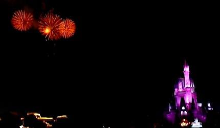 東京迪士尼樂園煙火