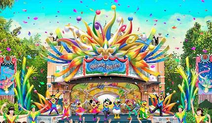 東京迪士尼樂園奧爾良劇場娛樂表演
