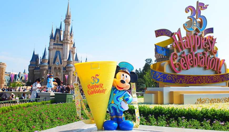 日本東京迪士尼度假區35週年慶,東京迪士尼樂園、東京迪士尼海洋必看表演秀、必吃美食、必買紀念品攻略