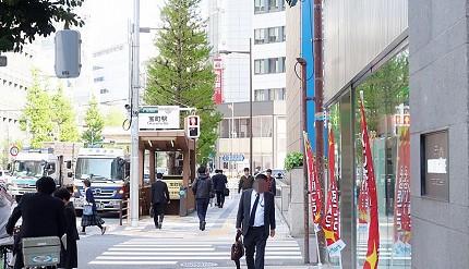 東京日本橋銀座住宿「Hotel Intergate東京京橋」飯店交通方式