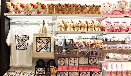 「MAGNET by SHIBUYA 109」1樓的Kitty專賣店販售澀谷限定紀念商品
