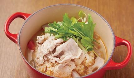 澀谷MARK CITY和風輕食茶鍋Café kagurazaka saryo根莖類蔬菜和涮豬肉的芝麻豆乳茶鍋