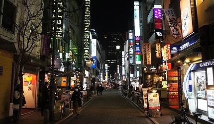 東京赤坂地區餐廳林立