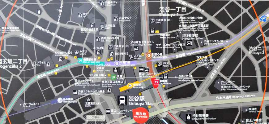 澀谷交通轉乘