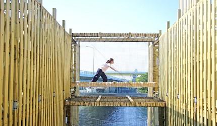 日本橫濱八景島巨大立體迷宮大海