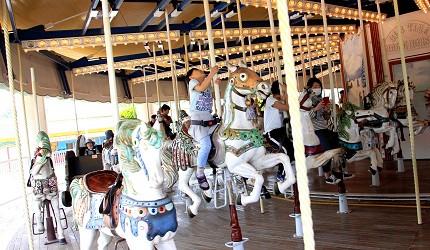 日本橫濱八景島海島樂園旋轉木馬