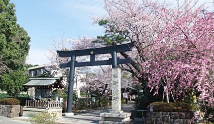 位於東京世田谷區的松陰神社