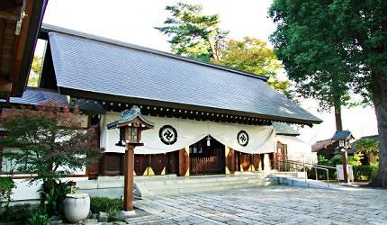 松陰神社的社殿