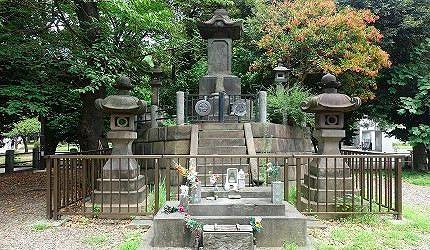 上野公園內「彰義隊」之墓