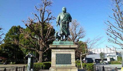 上野公園內西鄉隆盛銅像