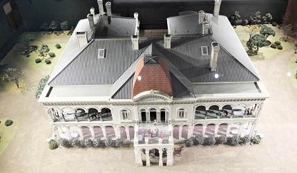 江戶東京博物館藏的鹿鳴館模型