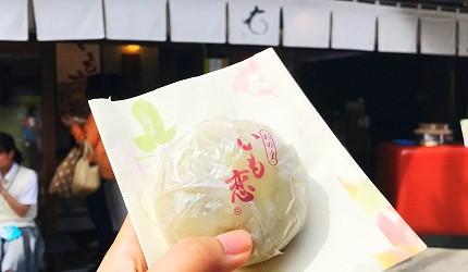 東京埼玉川越必吃蕃薯地瓜甜點菓匠右門 蕃薯之戀(いも恋)