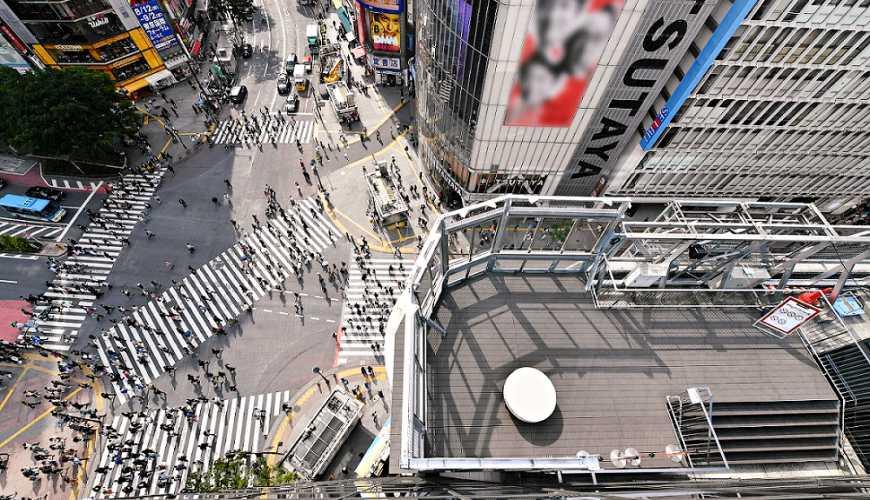 東京澀谷MAGNET by SHIBUYA 109 涉谷渋谷109MEN'S改裝,澀谷站前十字街口攝影拍照推薦場所CROSSING VIEW展望台