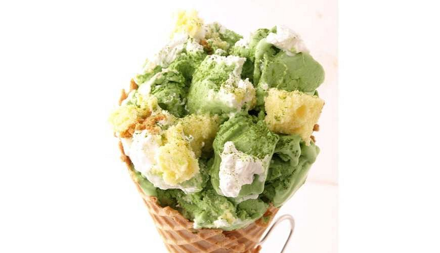 澀谷MARK CITY美食餐廳推薦,COLD STONE甜點冰淇淋Greeeeeeeen Tea Party