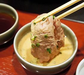 涮涮鍋、壽喜燒吃到飽名店推薦「しゃぶ禪」的特製胡麻沾醬