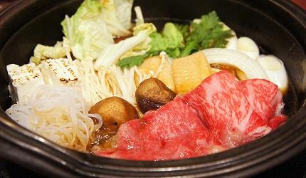 涮涮鍋、壽喜燒吃到飽名店推薦「しゃぶ禪」的壽喜燒(すき焼き)