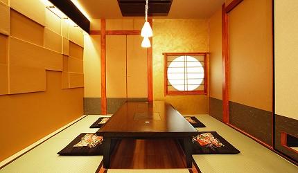 涮涮鍋、壽喜燒吃到飽名店推薦「しゃぶ禪」的六本木店日式榻榻米包廂