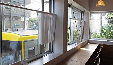 松陰PLAT看得見電車的咖啡館TABIRAKO