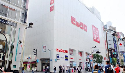 Bic Camera在新宿的旗舰店「BICQLO」