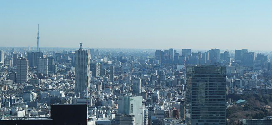 「东京都厅」是欣赏高空景观的好去处