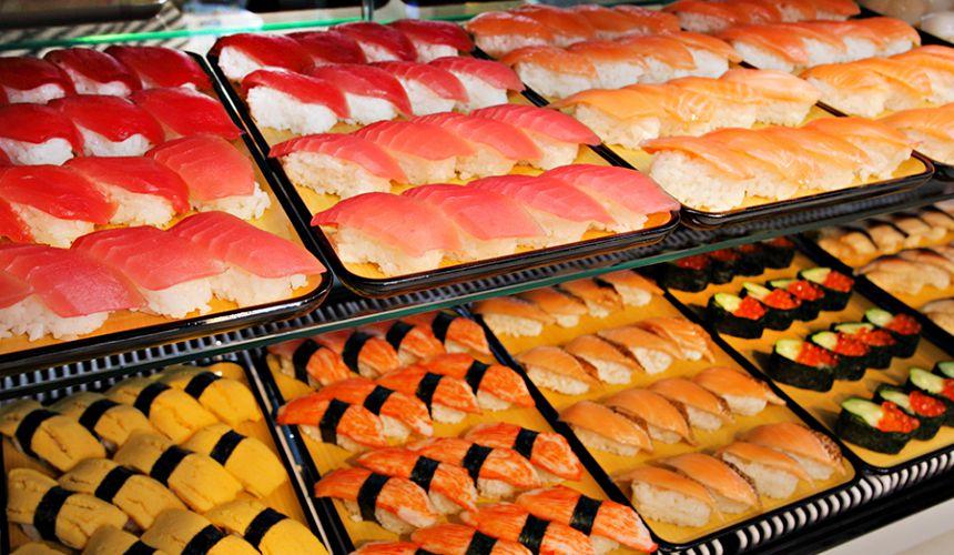 1,512日圓起的吃到飽燒肉店「Stamina太郎NEXT」上野阿美橫丁店自助取餐壽司