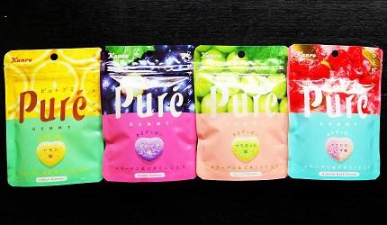 Puré 鮮果實軟糖