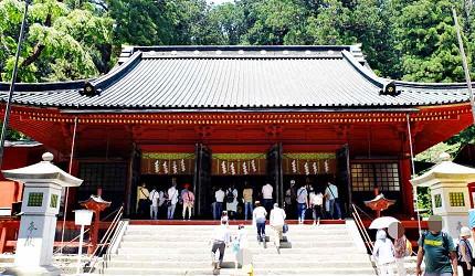 「二荒山神社」本殿