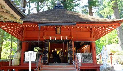 神苑內「大國殿」等多處神社也被列入世界文化遺產