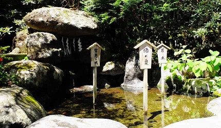 日光二荒山神社水質清澈、甘甜可口的「二荒靈泉」