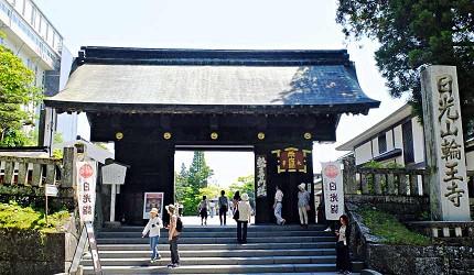 「日光山輪王寺」的黑門