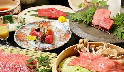 「肉の匠 將泰庵」新日本橋店和牛料理套餐