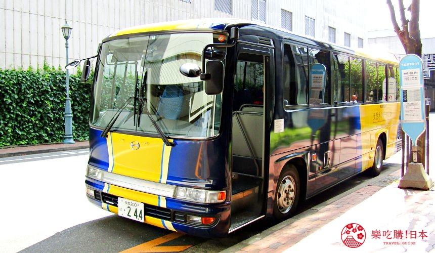東京免費景點推薦:可以免費試喝啤酒「SUNTORY三得利東京武藏野啤酒工廠」的接駁巴士