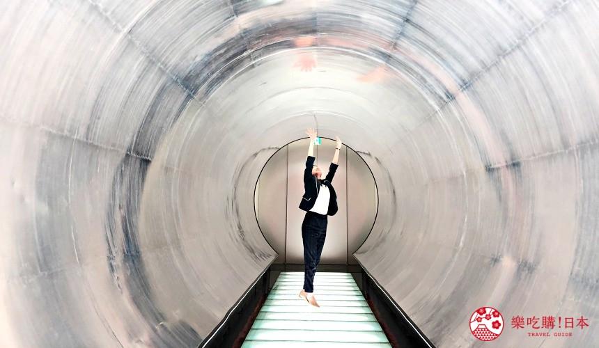 東京免費景點推薦:可以免費試喝啤酒「SUNTORY三得利東京武藏野啤酒工廠」裡的儲酒槽(貯酒タンク)很像太空船,是人氣拍照點