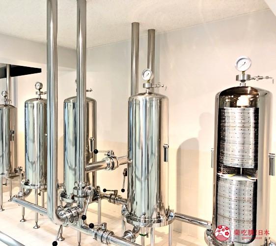東京免費景點推薦:可以免費試喝啤酒「SUNTORY三得利東京武藏野啤酒工廠」裡的釀酒工程(仕込工程)參觀