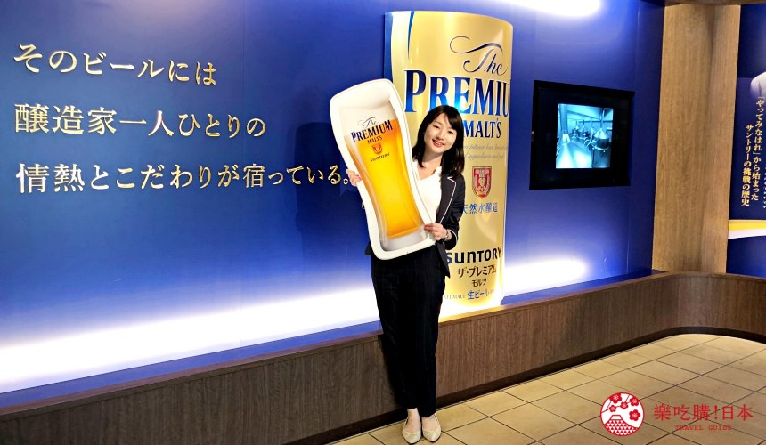 東京免費景點推薦:可以免費試喝啤酒「SUNTORY三得利東京武藏野啤酒工廠」的內部照