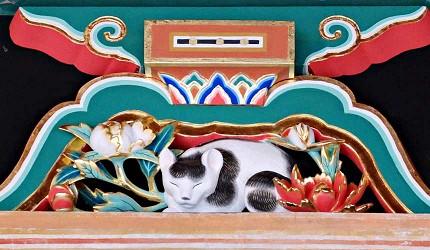 日光東照宮的眠貓象徵太平盛世