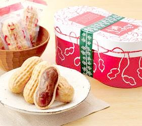 日本關東千葉縣特色伴手禮土產日式甜點花生最中