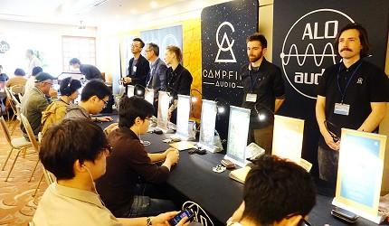 東京中野必去耳機店「FUJIYA AVIC」的耳機祭(ヘッドホン祭り)現場可以進行試聽