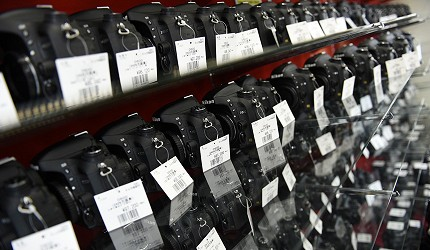 東京中野必去相機店「FUJIYA CAMERA」的二手相機