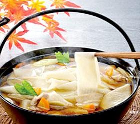 日本關東群馬縣當地美食料理紐革烏龍麵