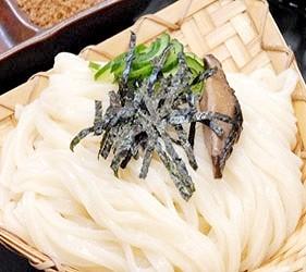 日本關東群馬縣當地美食料理水澤烏龍麵