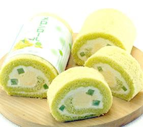 日本關東茨城縣哈密瓜甜點伴手禮土產哈密瓜蛋糕卷