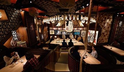 東京壽司推薦板前壽司江戶店內裝潢