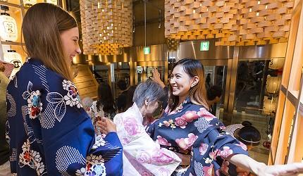 東京壽司推薦板前壽司江戶免費浴衣體驗