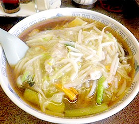 日本關東神奈川縣特色美食B級小吃生碼麵